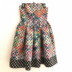 Anthropologie Corey Lynn Carter Polka Dot Dress